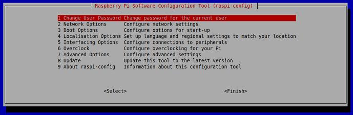 Raspbian Config